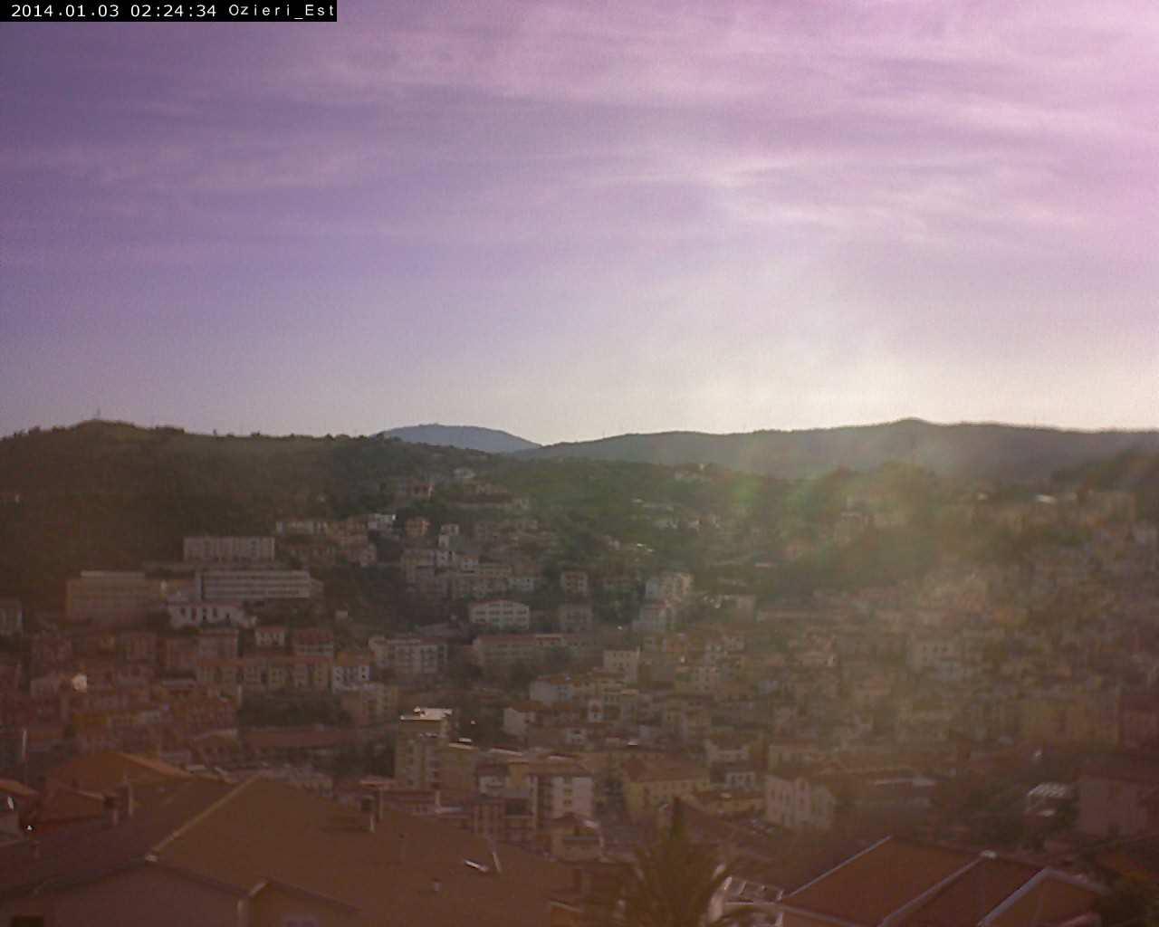 Webcam di Ozieri, panorama